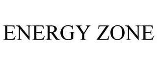 mark for ENERGY ZONE, trademark #87348751
