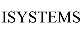 mark for ISYSTEMS, trademark #87371003