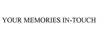 mark for YOUR MEMORIES IN-TOUCH, trademark #87373280