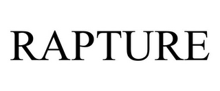 mark for RAPTURE, trademark #87395412