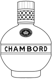 mark for BLACK RASPBERRY LIQUEUR ROYALE DE FRANCE CHAMBORD, trademark #87410162