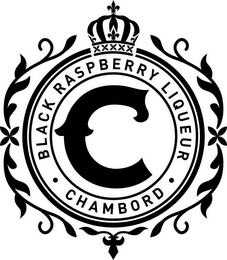 mark for C  · BLACK RASPBERRY LIQUEUR · CHAMBORD, trademark #87410190