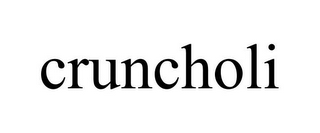mark for CRUNCHOLI, trademark #87425641