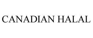 mark for CANADIAN HALAL, trademark #87444879