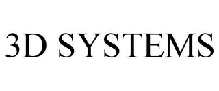 mark for 3D SYSTEMS, trademark #87445738