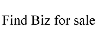 mark for FIND BIZ FOR SALE, trademark #87454694