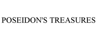 mark for POSEIDON'S TREASURES, trademark #87466268