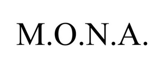 mark for M.O.N.A., trademark #87470288
