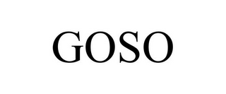 mark for GOSO, trademark #87482930