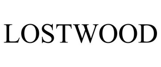 mark for LOSTWOOD, trademark #87483580