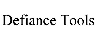 mark for DEFIANCE TOOLS, trademark #87485612