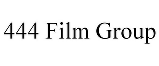 mark for 444 FILM GROUP, trademark #87485673