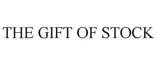 mark for THE GIFT OF STOCK, trademark #87497076