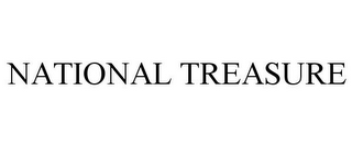 mark for NATIONAL TREASURE, trademark #87498712