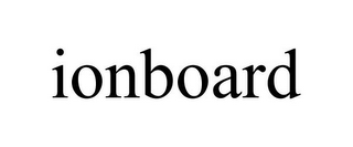 mark for IONBOARD, trademark #87508006