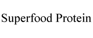 mark for SUPERFOOD PROTEIN, trademark #87525285
