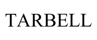 mark for TARBELL, trademark #87526657