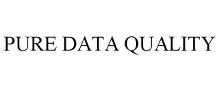 mark for PURE DATA QUALITY, trademark #87529140