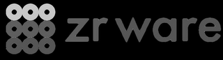 mark for ZR WARE, trademark #87532498