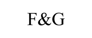 mark for F&G, trademark #87534450