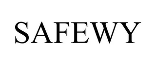 mark for SAFEWY, trademark #87544500