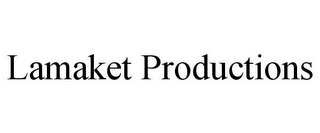 mark for LAMAKET PRODUCTIONS, trademark #87549253