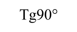 mark for TG90°, trademark #87558062