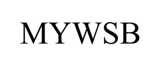 mark for MYWSB, trademark #87561654