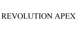 mark for REVOLUTION APEX, trademark #87586210