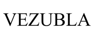 mark for VEZUBLA, trademark #87591274