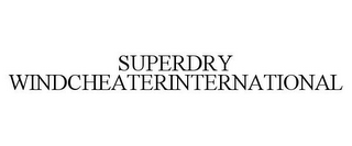 mark for SUPERDRY WINDCHEATERINTERNATIONAL, trademark #87617861