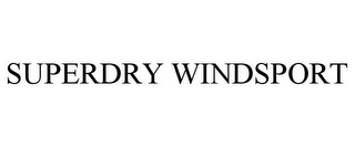 mark for SUPERDRY WINDSPORT, trademark #87621285