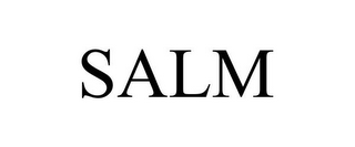 mark for SALM, trademark #87622450