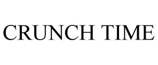 mark for CRUNCH TIME, trademark #87625446