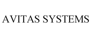 mark for AVITAS SYSTEMS, trademark #87630765