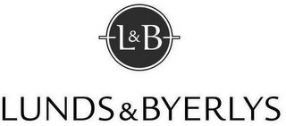 mark for L&B LUNDS & BYERLYS, trademark #87631688