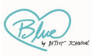 mark for BLUE BY BETSEY JOHNSON, trademark #87634522