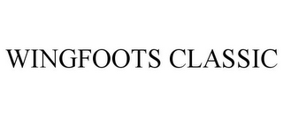 mark for WINGFOOTS CLASSIC, trademark #87642855