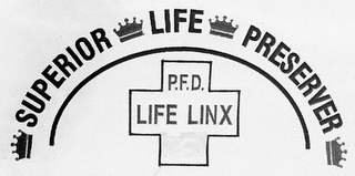 mark for SUPERIOR LIFE PRESERVER P.F.D. LIFE LINX, trademark #87645786