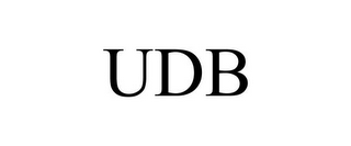 mark for UDB, trademark #87647507