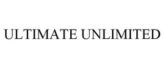 mark for ULTIMATE UNLIMITED, trademark #87662725