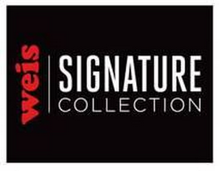 mark for WEIS SIGNATURE COLLECTION, trademark #87662895
