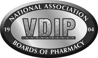 mark for VDIP 1904 NATIONAL ASSOCIATION BOARDS OF PHARMACY, trademark #87665169