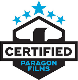 mark for CERTIFIED PARAGON FILMS, trademark #87665891