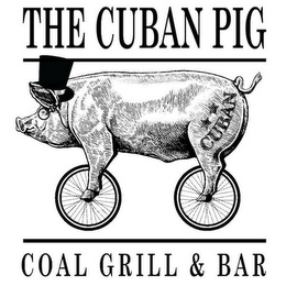 mark for THE CUBAN PIG CUBAN COAL GRILL & BAR, trademark #87666688