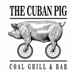 mark for THE CUBAN PIG COAL GRILL & BAR, trademark #87666731