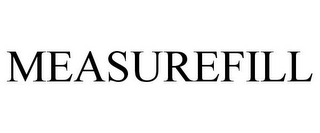 mark for MEASUREFILL, trademark #87671614