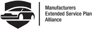 mark for MANUFACTURERS EXTENDED SERVICE PLAN ALLIANCE, trademark #87678532