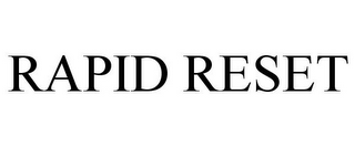 mark for RAPID RESET, trademark #87680106
