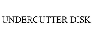 mark for UNDERCUTTER DISK, trademark #87682249